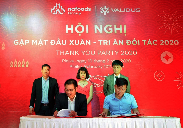 validus vietnam and nafoods group partner to boost financing for agriculture sector in vietnam