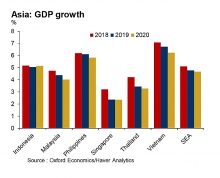 south east asias gdp growth forecast to slow to 48 in 2019