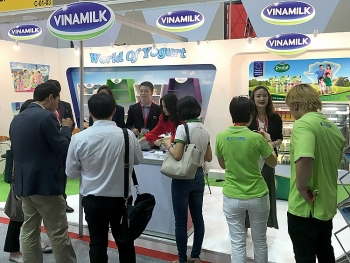 the congregation of many vietnamese companies in thaifex