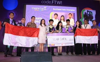 indonesia students win inaugural microsoft imagine cup southeast asia regional finals