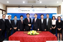 hanwha life vietnam and shinhan bank vietnam signed bancassurance deal