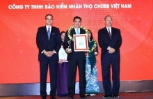 chubb life in vietnam wins top 10 vietnam insurance reputation award 2019