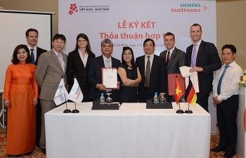 siemens healthcare ltd and vietnam japan medical high tech development jsc ink mou to foster cooperation in healthcare