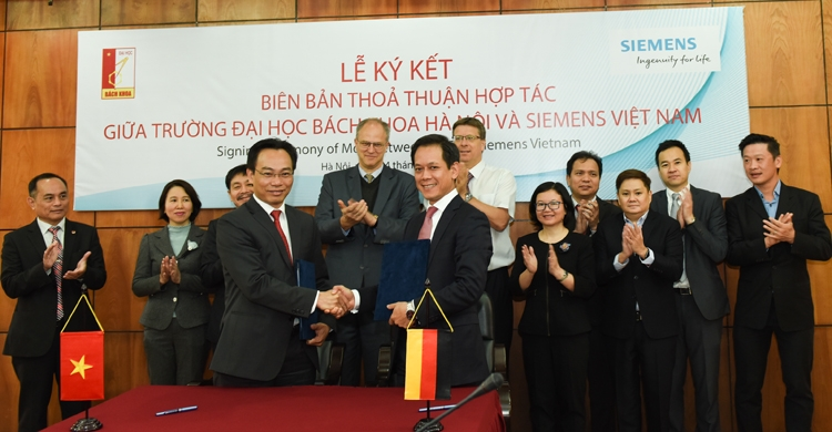 hust and siemens ink mou to foster the next generation of digital talent