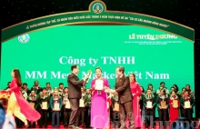 mm mega market vietnam co honored as farmers business