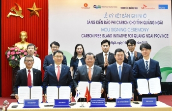 non carbon island initiative for quang ngai province