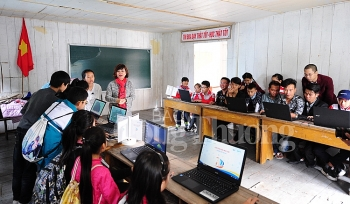 eradicate computer illiteracy for disadvantaged youth in the coastal area