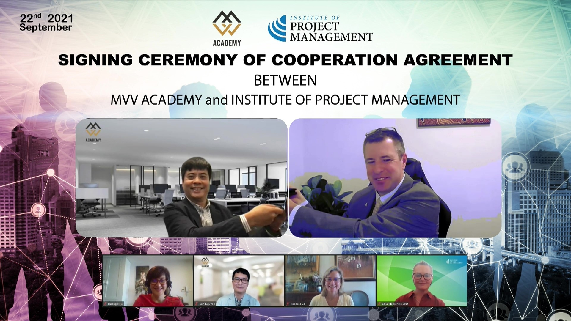 cooperation to develop training programs for project management capacity in vietnam