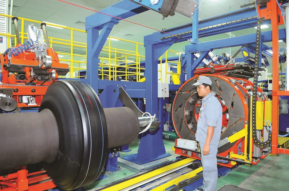 industrial target less outsourcing more local production