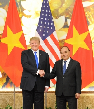 trumps visit boosts prospects of upgraded trade investment ties with vietnam