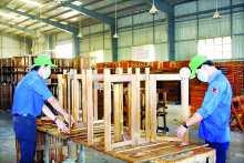 annual timber export target feasible touch wood