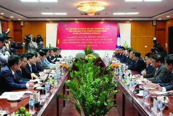 vietnam laos promote energy and mineral cooperation