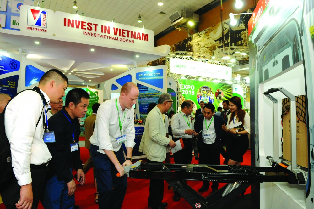 vietnam expo 2018 a trade show of force