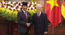 vietnam brunei upgrade ties