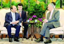 singapore vietnam seek to strengthen economic cooperation