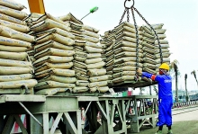 q1 data cement favorable export forecast