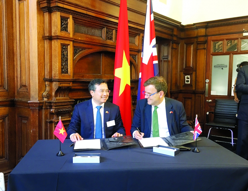 uk seeks post brexit trade cooperation with vietnam