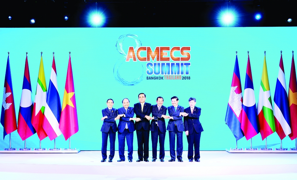 mekong states discuss narrowing gaps sustainable development
