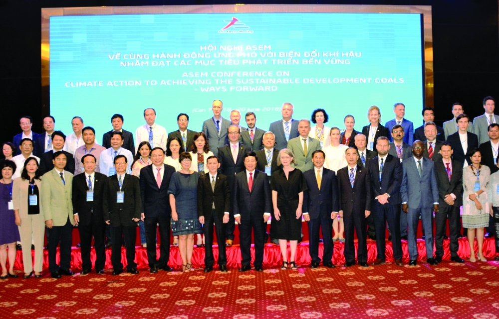 asian european states meet to discuss joint action on climate change