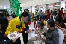 vietnamese appetite grows for japanese food products