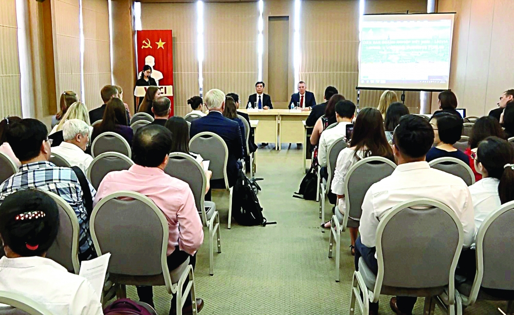 vietnamese latvian firms promote connections