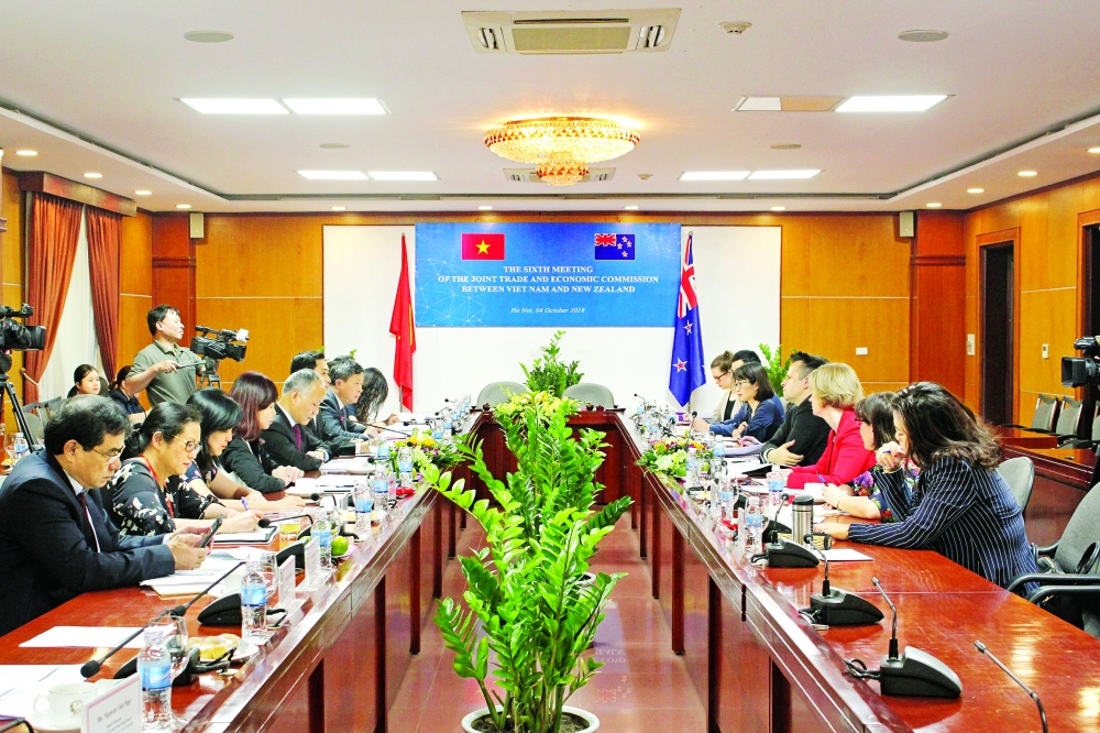 vietnam new zealand see robust growth in trade relations