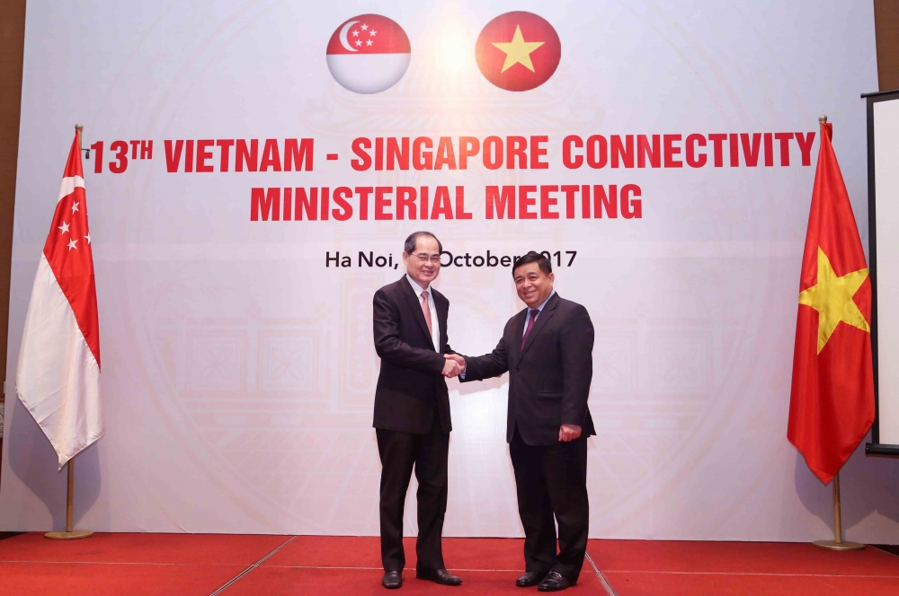 vietnam singapore cement trade ties