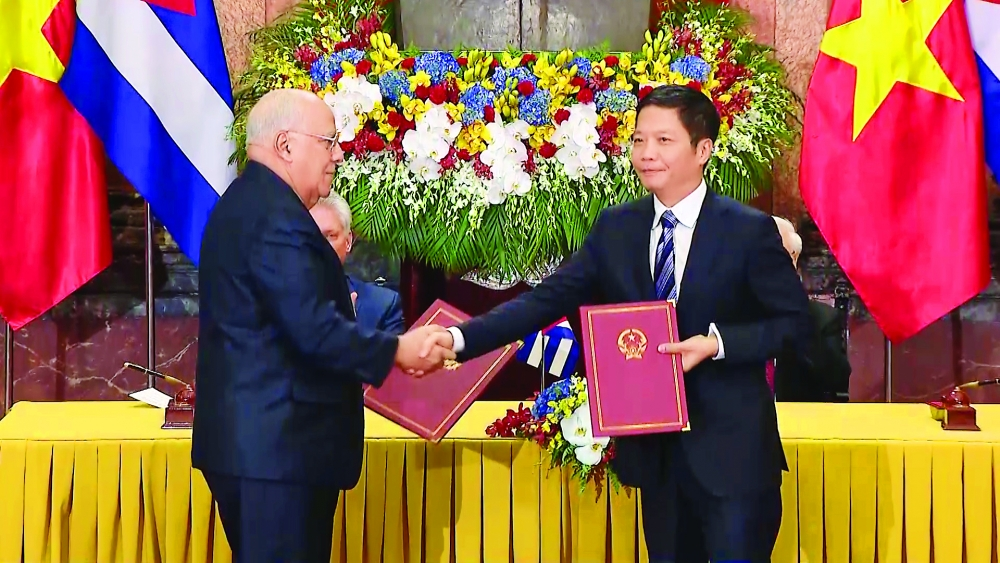 cuba vietnam to double trade turnover