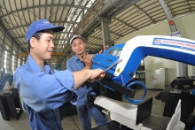 industrial sector verging on annual growth target