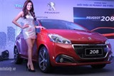 updated peugeot 208 launched in vietnam