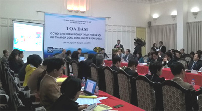 Hanoi firms gain insight into ASEAN Economic Community