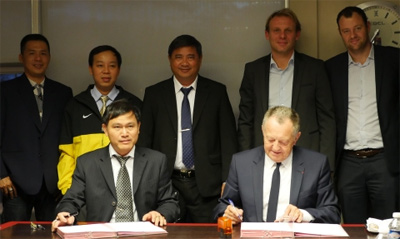 HFF signs co-operation agreement with Olympique Lyonnais
