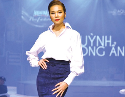 Hydration inspires fashion show winner