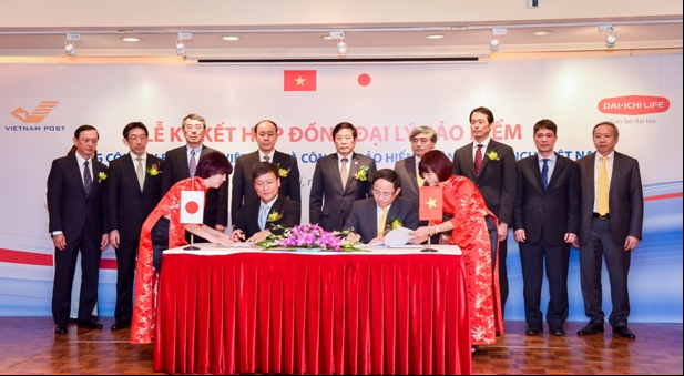 Dai-ichi Life Vietnam and Vietnam Post Corporation signed Exclusive Life Insurance Agency Agreement