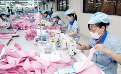 Climbing the textile value chain ladder