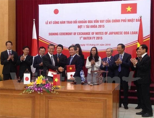 Japan provides Vietnam over 95 billion yen in ODA