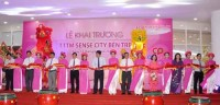 sense city department store opens in ben tre