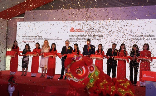 Avery Dennison RBIS builds new plant in Viet Nam