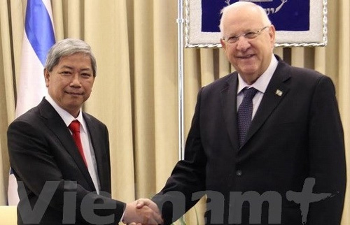 Israel wants to step up ties with Vietnam: Israeli President