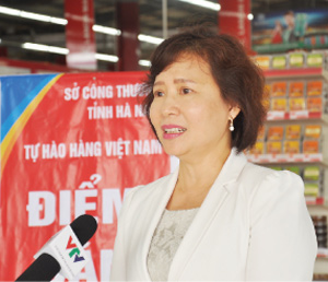 Vietnamese goods win trust at supermarkets abroad