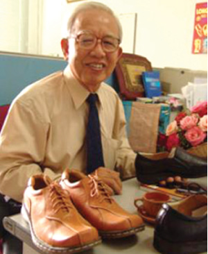 Vu Cham, an outstanding shoe maker
