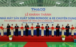 thacos trailer manufacturing factory inaugurated