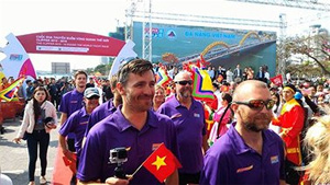 Round the World Clipper teams arrive in Danang