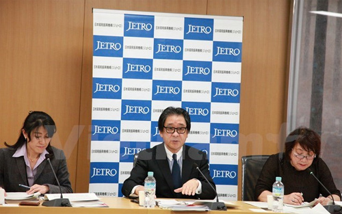 Vietnam-Japan trade to be strengthened: JETRO president
