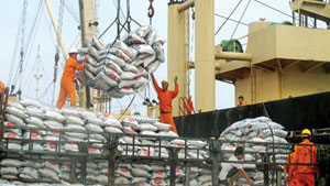 Agro-forestry, aquatic exports fall