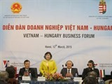 vietnam hungary to strengthen business ties