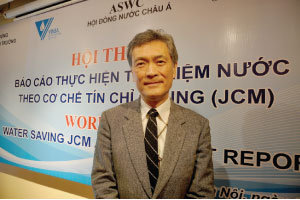 Japan supports Vietnam to save water