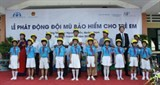 helmets for kids kick off ceremony in quang nam province