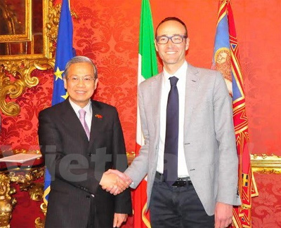 Italian region willing to reinforce ties with Vietnam: officials