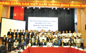 Int'l integration improves position of trade unions
